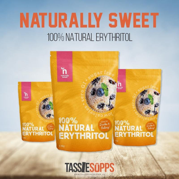 ERYTHRITOL - NATURAL SWEETENER | NATURALLY SWEET - Tassie Supps - PANTRY