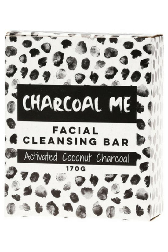 FACIAL CLEANING BAR - ACTIVATED COCONUT CHARCOAL | CHARCOAL ME - Tassie Supps - Personal Hygiene