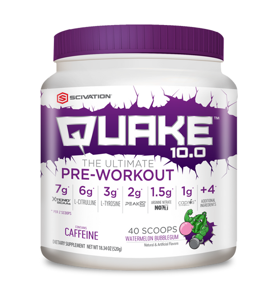 *(DISCONTINUED) QUAKE PRE-WORKOUT | SCIVATION
