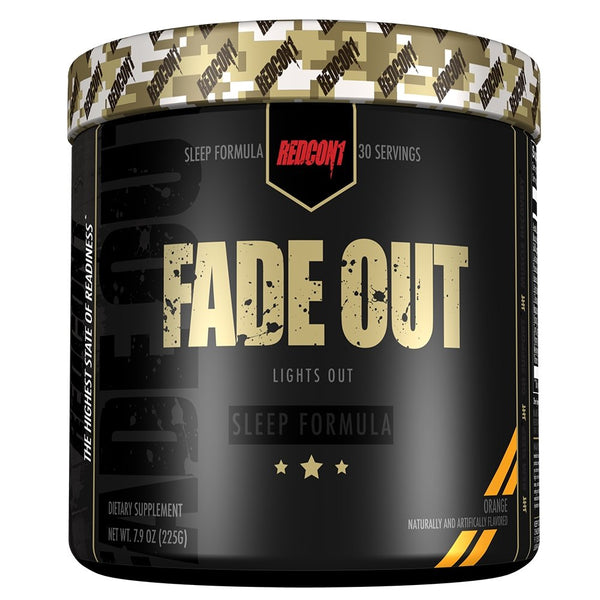 FADE OUT SLEEP FORMULA | REDCON1 - Tassie Supps - Sleeping Aid