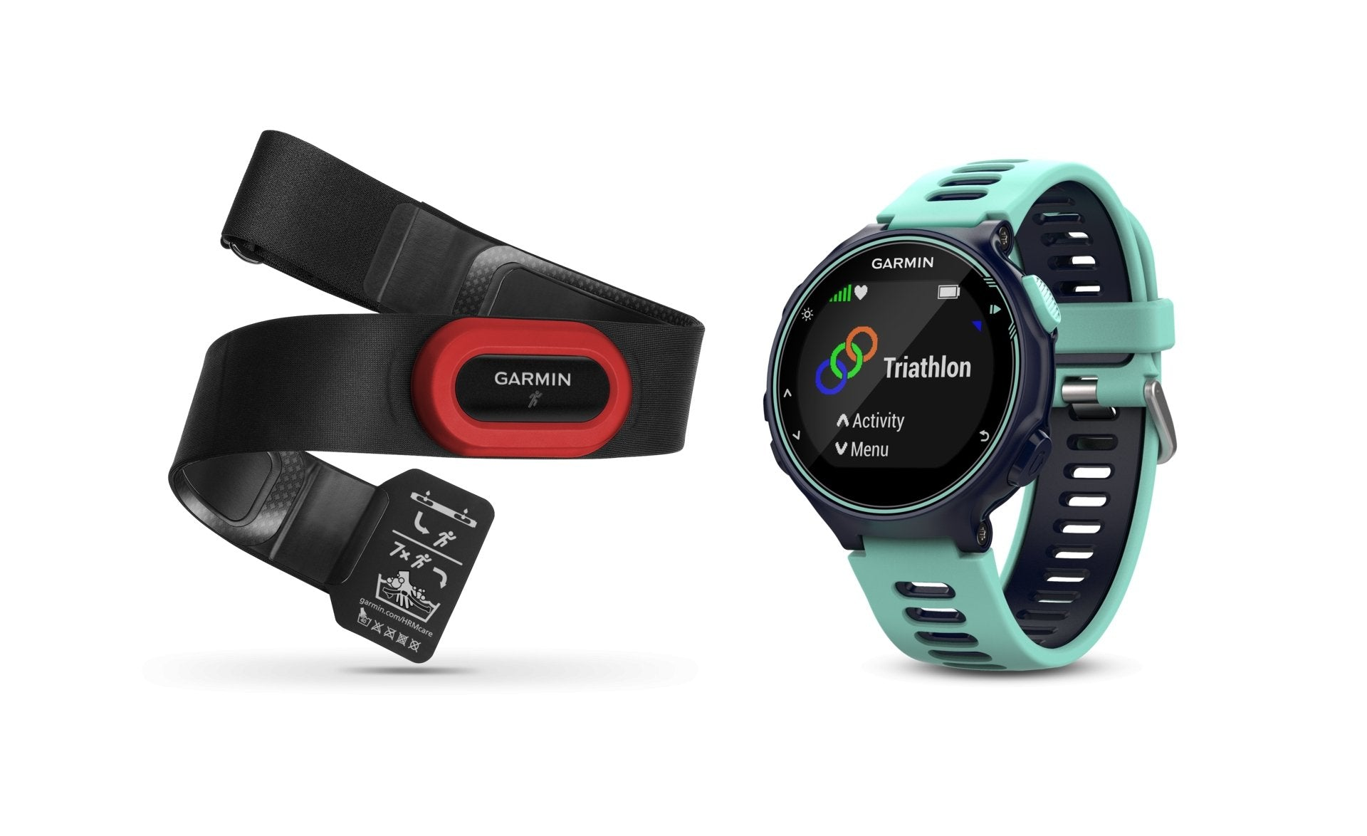 Forerunner® 735XT | Midnight Blue/Frost Blue Run Bundle | GARMIN - Tassie Supps - Activity Tracker
