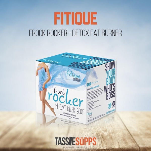 FROCK ROCKER - DETOX / FAT BURNER | FITIQUE - Tassie Supps - FAT BURNERS / DETOX / WEIGHT LOSS