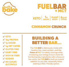 FUEL BAR | BUFF BAKE - Tassie Supps - Snacks