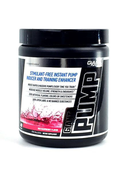 Giant Pump 40srv by GIANT SPORTS - Tassie Supps - Pre-Workout