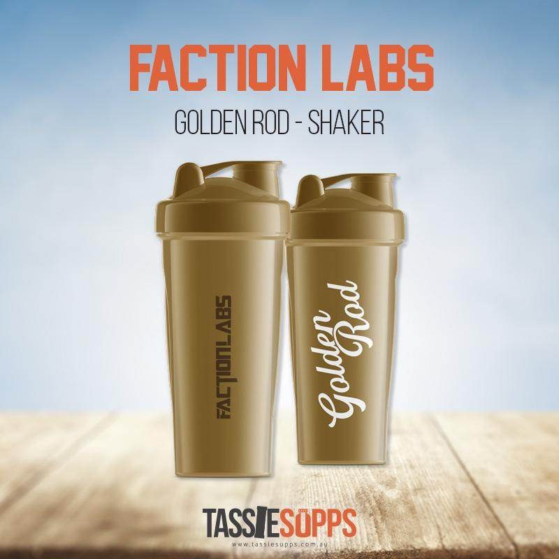 GOLDEN ROD SHAKER | FACTION LABS - Tassie Supps - Shakers / Bottles