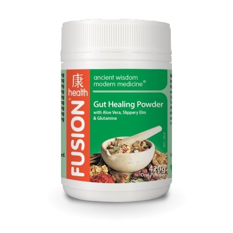GUT HEALING POWDER - GUT HEALTH | FUSION HEALTH - Tassie Supps - Vitamin's | Tablets