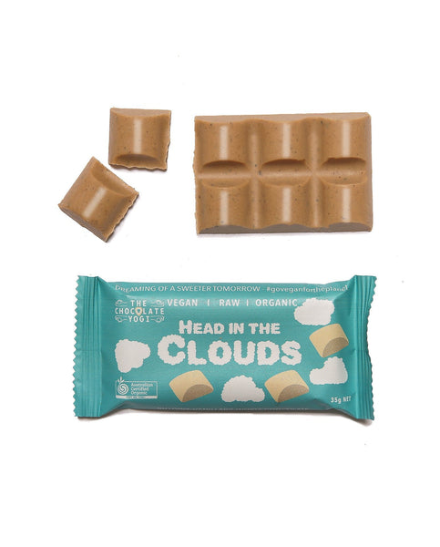 Head in the Clouds White Choc by THE CHOCOLATE YOGI - Tassie Supps - Snacks
