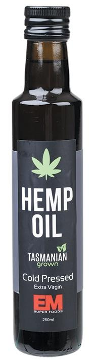 HEMP SEED OIL - COLD PRESSED | EM SUPERFOODS - Tassie Supps - PANTRY