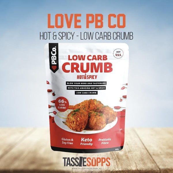 HOT & SPICY - LOW CARB CRUMB | PROTEIN BREAD CO - Tassie Supps - PANTRY
