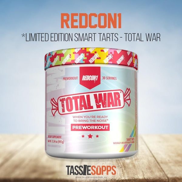 LIMITED EDITION - SMART TARTS - TOTAL WAR | REDCON1 - Tassie Supps - Pre-Workout