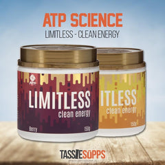 LIMITLESS - CLEAN ENERGY | ATP SCIENCE - Tassie Supps - Pre-Workout