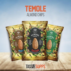 LOW CARB - ALMOND CHIPS | TEMOLE - Tassie Supps - Snacks