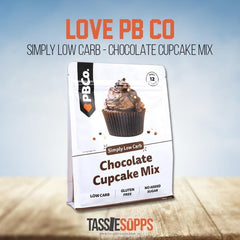 LOW CARB CHOC CUPCAKE MIX | LOVE PB CO - Tassie Supps - PANTRY
