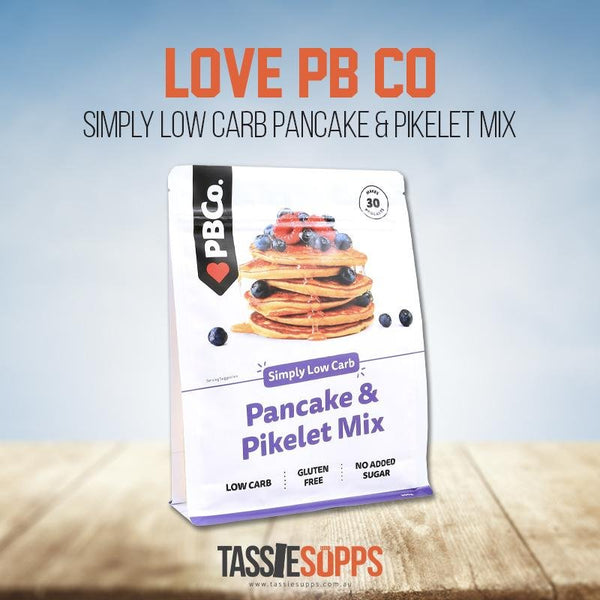 LOW CARB PANCAKES | LOVE PB CO - Tassie Supps - PANTRY