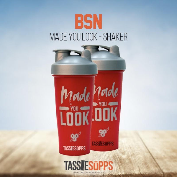 MADE YOU LOOK - SHAKER | BSN - Tassie Supps - Promo Products / Must be free to us