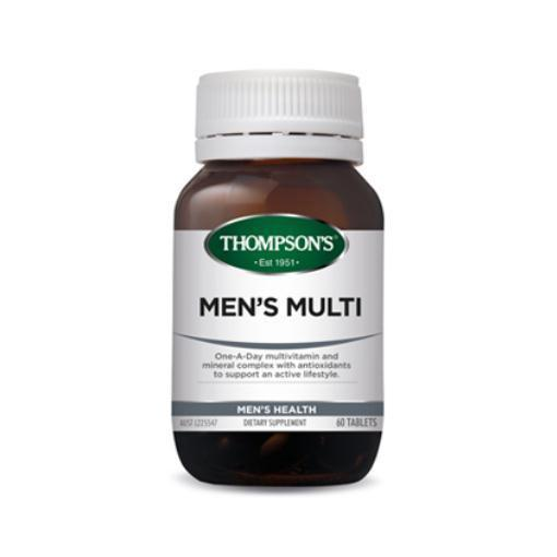 Men's Multi 60 Tablets by THOMPSON'S - Tassie Supps - Vitamin's | Tablets