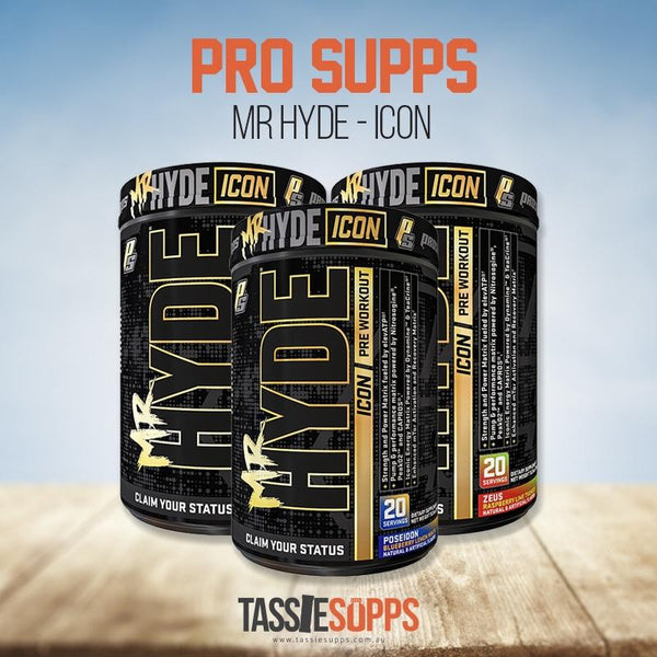 MR. HYDE ICON - PRE-WORKOUT | PRO SUPPS - Tassie Supps - Pre-Workout