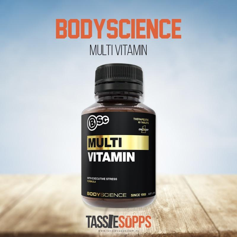 MULTI VITAMIN | BSc - BODYSCIENCE - Tassie Supps - Vitamin's | Tablets