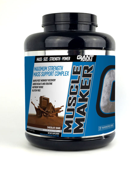 MUSCLE MAKER - MASS GAINER | GIANT SPORTS - Tassie Supps - PROTEIN - MASS GAINER