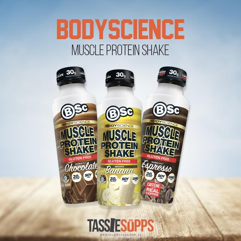 MUSCLE PROTEIN SHAKE - READY TO DRINK | BSc - BODYSCIENCE - Tassie Supps - Ready To Drink (RTD)
