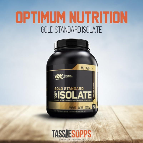 *NEW FLAVOURS* GOLD STANDARD - ISOLATE | OPTIMUM NUTRITION - Tassie Supps - PROTEIN - DAIRY BASED