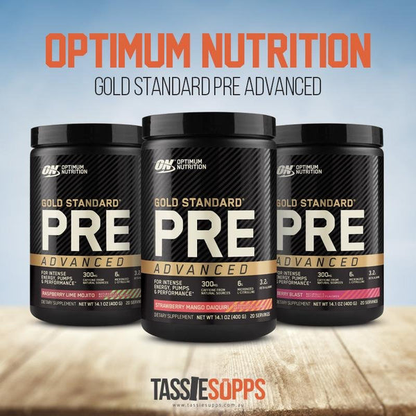 *NEW* GOLD STANDARD PRE ADVANCED - PRE WORKOUT | OPTIMUM NUTRITION - Tassie Supps - Pre-Workout