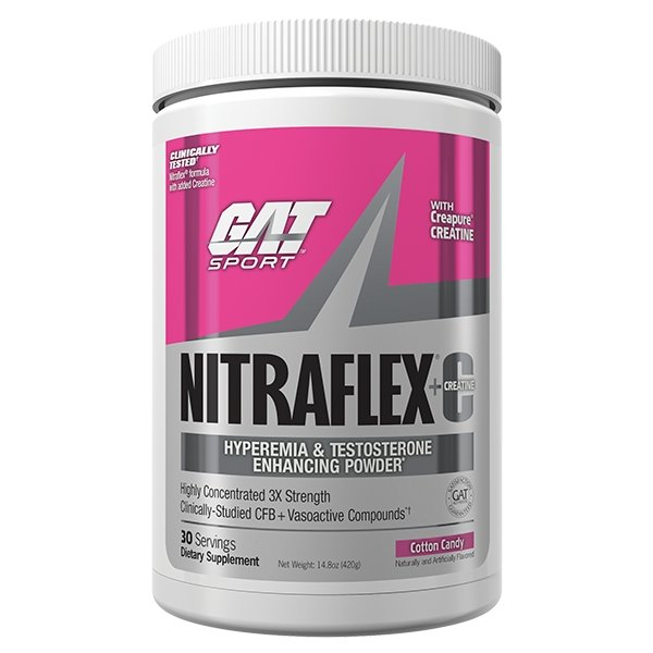 NITRAFLEX +C - PRE WORKOUT | GAT - GERMAN AMERICAN TECHNOLOGIES - Tassie Supps - Pre-Workout