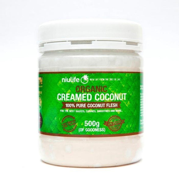 NIULIFE Creamed Coconut 500g - Tassie Supps - PANTRY
