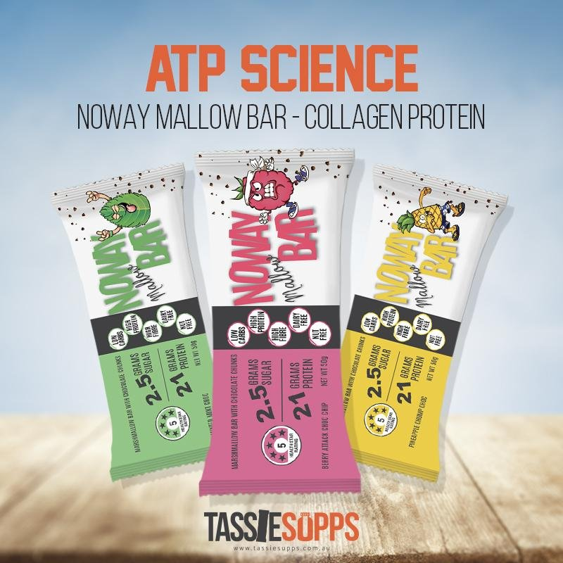 NOWAY MALLOW PROTEIN BAR | ATP SCIECNCE - Tassie Supps - Snacks