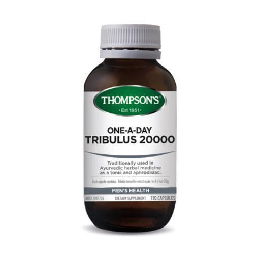 One-A-Day Tribulus 20000mg | 120 Capsules | THOMPSON'S - Tassie Supps - Vitamin's | Tablets