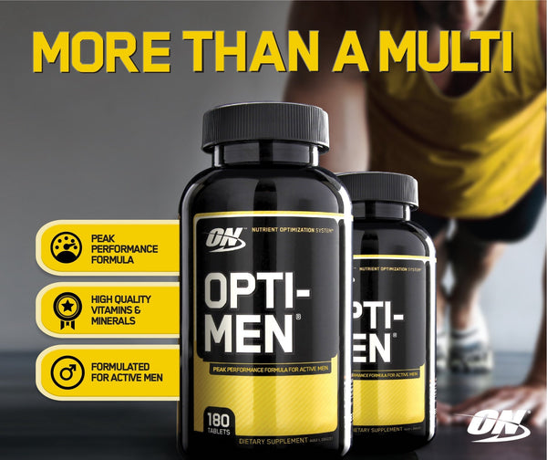 OPTIMEN Multi Vitamin | OPTIMUM NUTRITION - Tassie Supps - Vitamin's | Tablets