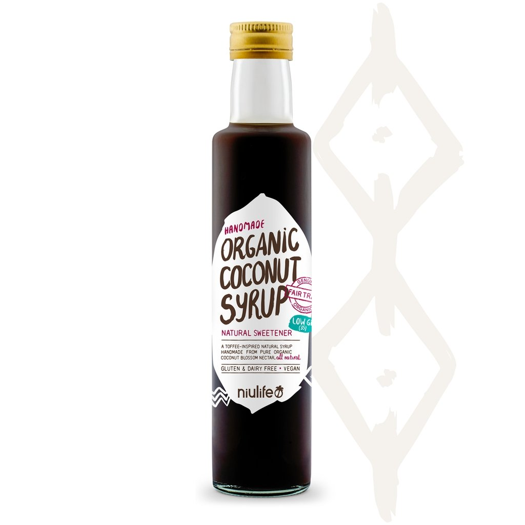 Organic Coconut Syrup | 250ml Bottle | NIULIFE - Tassie Supps - PANTRY