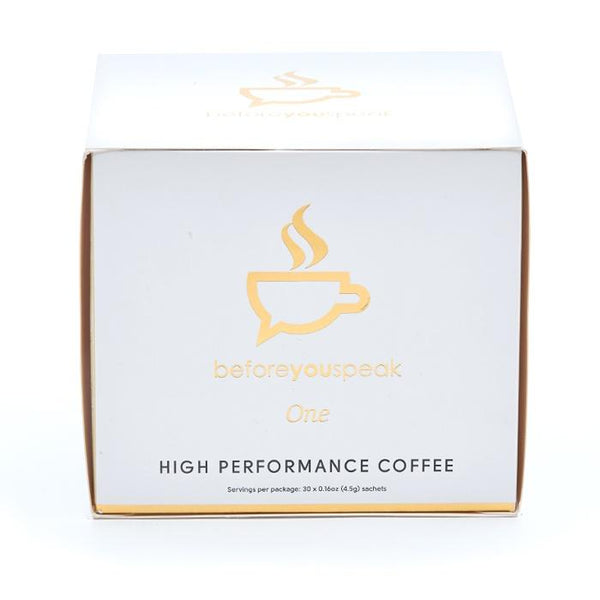ORIGINAL - HIGH PERFORMANCE COFFEE | BEFORE YOU SPEAK - Tassie Supps - KETO