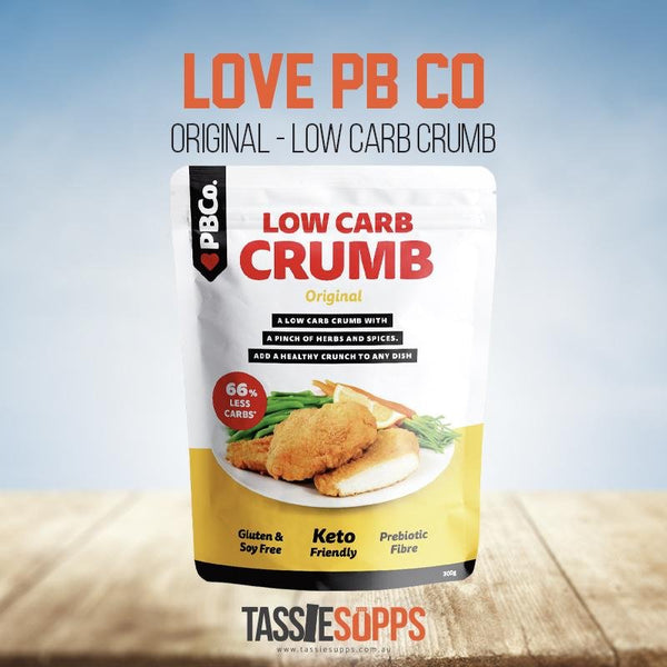 ORIGINAL RECIPE - LOW CARB CRUMB | PROTEIN BREAD CO - Tassie Supps - PANTRY