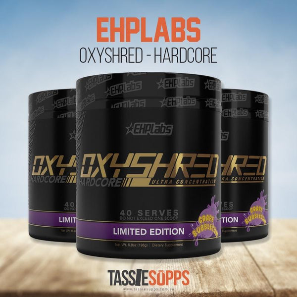 OXYSHRED - HARDCORE - FAT BURNER | EHPLABS - Tassie Supps - FAT BURNERS / DETOX / WEIGHT LOSS