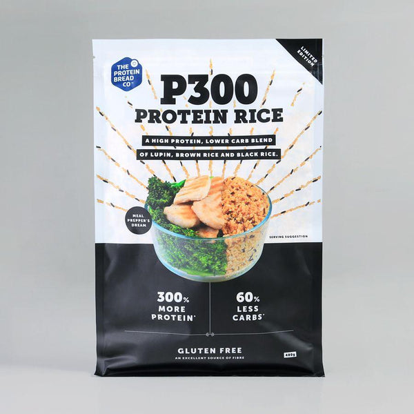 P300 PROTEIN RICE | PROTEIN BREAD CO - Tassie Supps - PANTRY