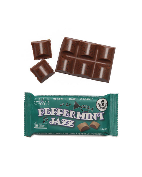 PEPPERMINT JAZ | THE CHOCOLATE YOGI - Tassie Supps - Snacks