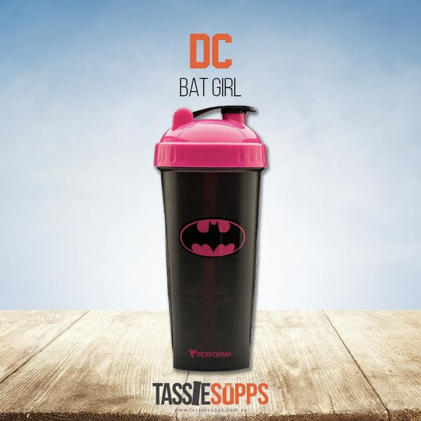 PINK BATMAN SHAKER CUP - DC COMICS COLLECTION ORIGINAL SERIES | PERFECT SHAKER - Tassie Supps - Shakers / Bottles