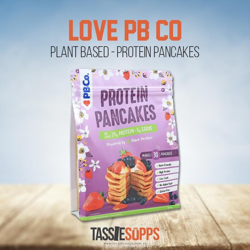 PLANT BASED PROTEIN PANCAKES | LOVE PB CO - Tassie Supps - PANTRY