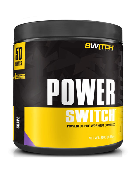 Power Switch | SWITCH NUTRITION - Tassie Supps - Pre-Workout