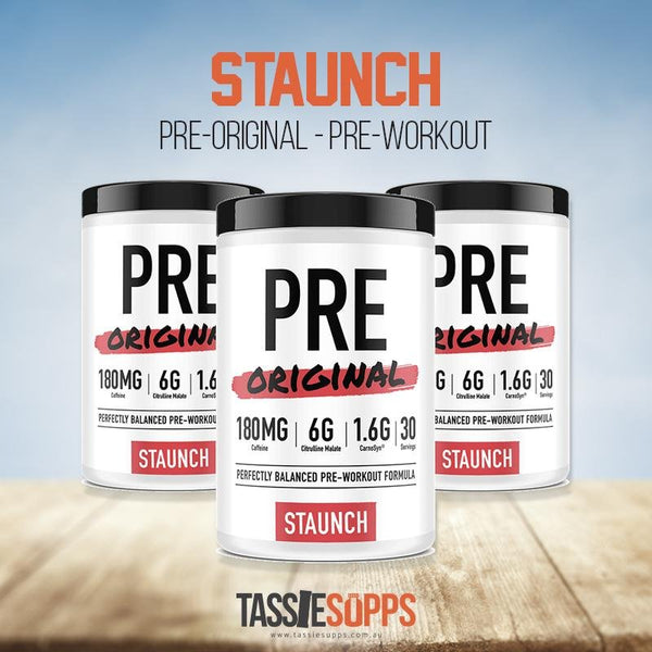 PRE ORIGINAL - PRE WORKOUT | STAUNCH NATION - Tassie Supps - Pre-Workout