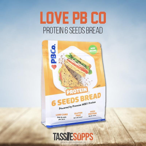 Protein Bread Mix 6 AUSTRALIAN SEEDS | LOVE PB CO - Tassie Supps - PANTRY