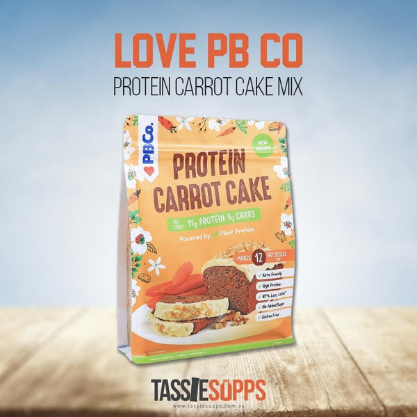 PROTEIN CARROT CAKE MIX | LOVE PB CO - Tassie Supps - PANTRY