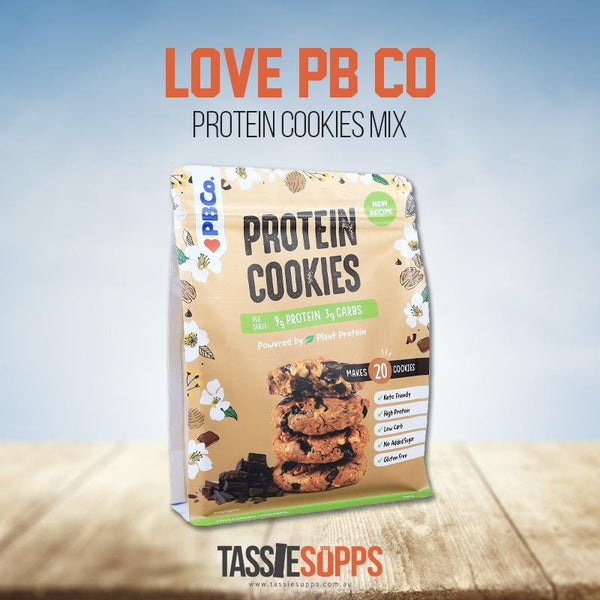 PROTEIN COOKIE MIX - PLANT BASED | PROTEIN BREAD CO - Tassie Supps - PANTRY