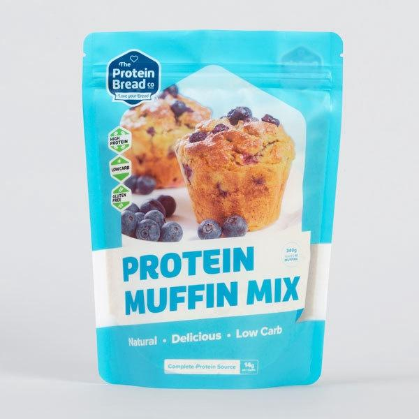Protein Muffin Mix 340g by Protein Bread Co - Tassie Supps - PANTRY