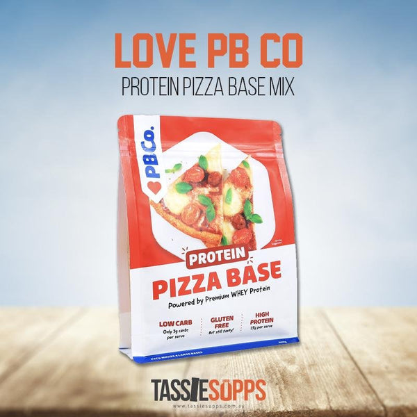 PROTEIN PIZZA BASE MIX | LOVE PB CO - Tassie Supps - PANTRY