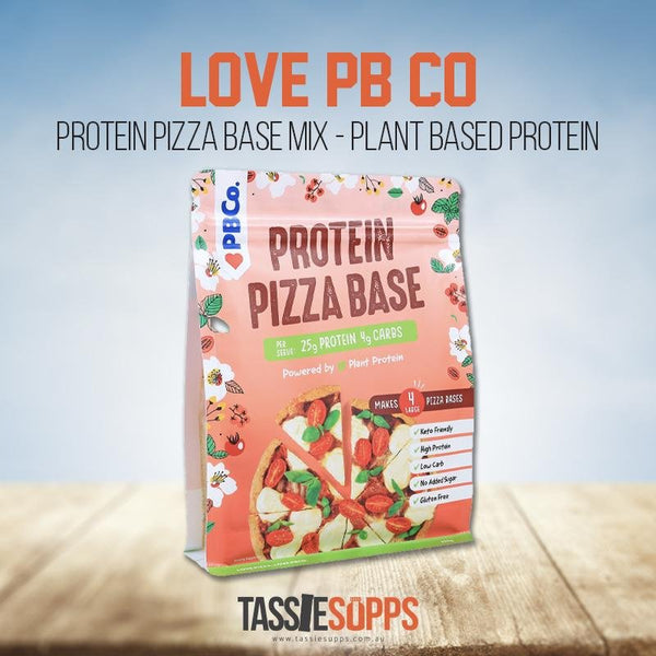 PROTEIN PIZZA BASE MIX - PLANT BASED PROTEIN | LOVE PB CO - Tassie Supps - PANTRY
