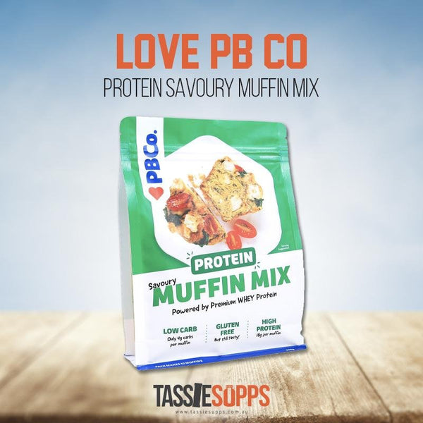 Protein Savoury Muffin Mix 340g by Protein Bread Co - Tassie Supps - Whole Foods