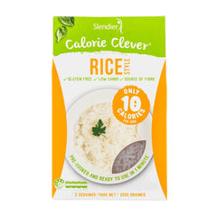 RICE ( CALORIE CLEVER ) | SLENDIER SLIM - Tassie Supps - PANTRY