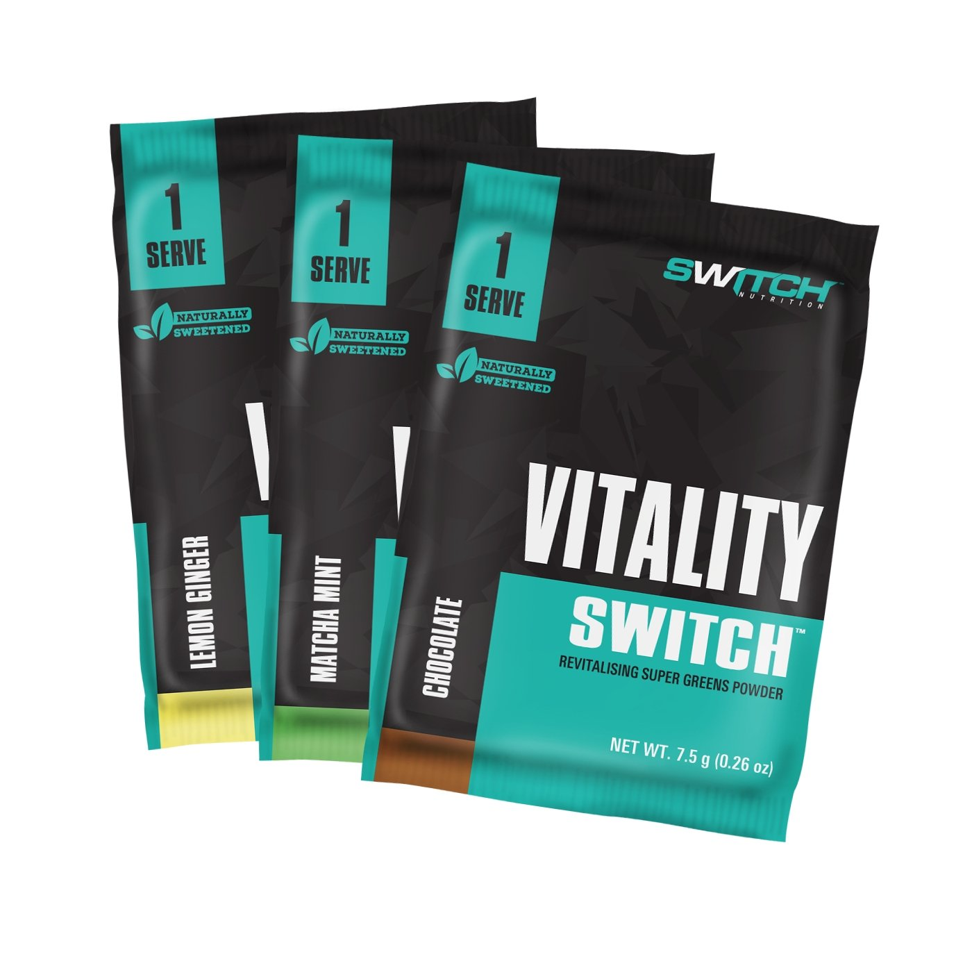 SAMPLE - VITALITY SWITCH | SWITCH NUTRITION - Tassie Supps - SAMPLE